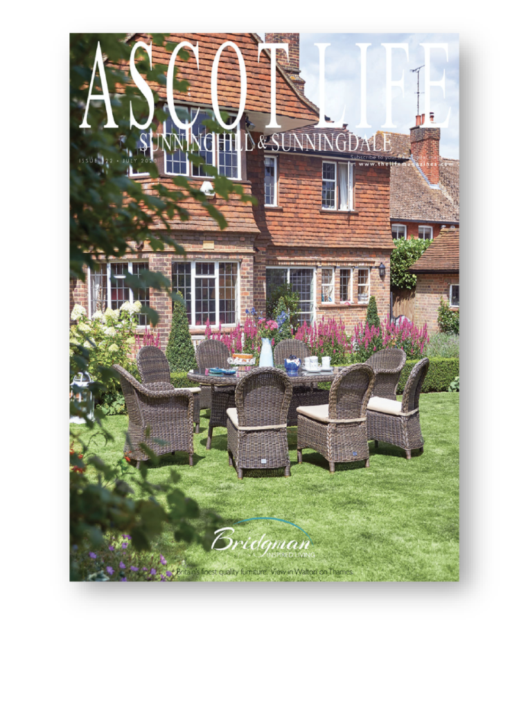 Ascot life front cover July