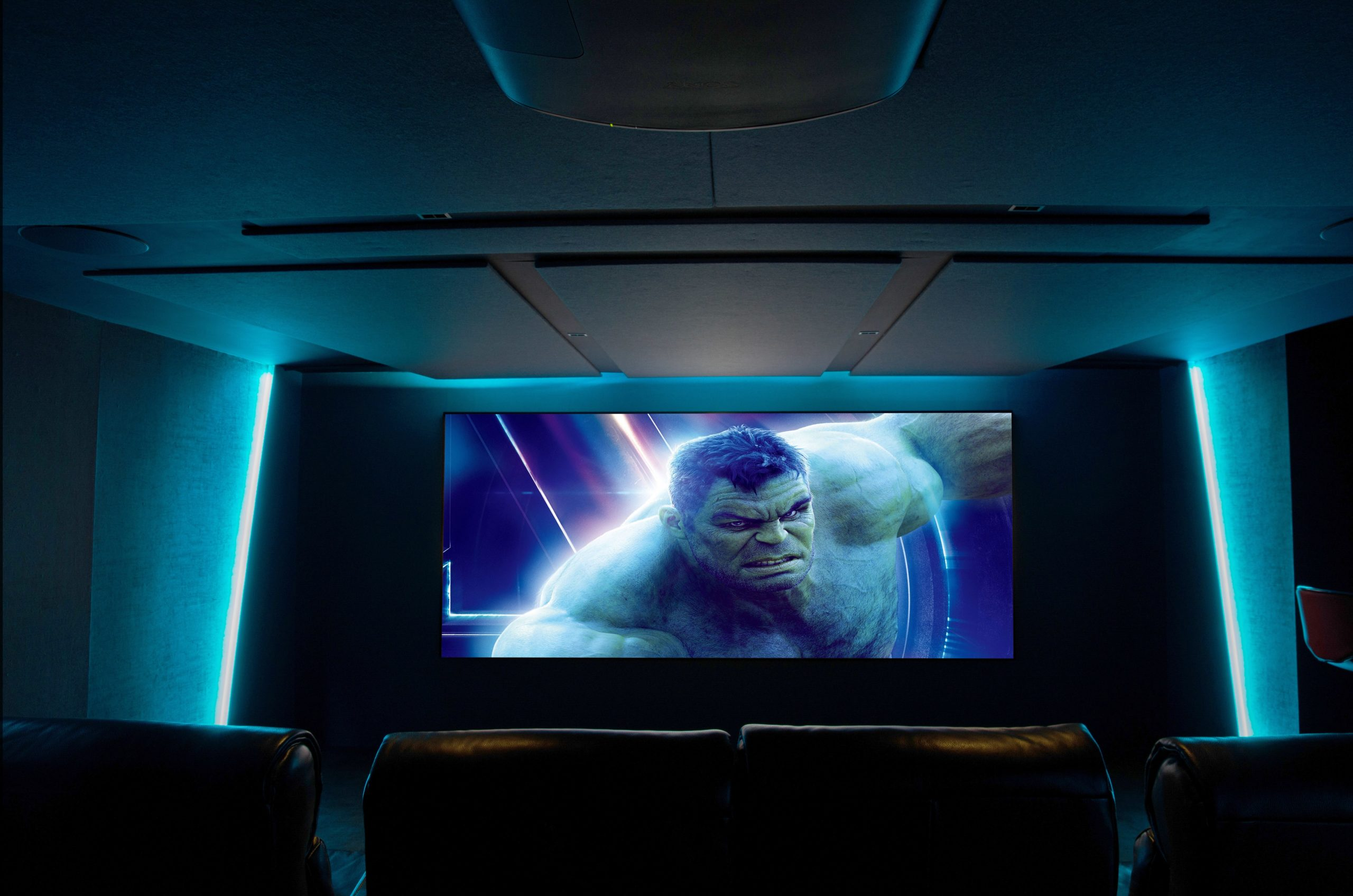 Jeremy Peek home cinema