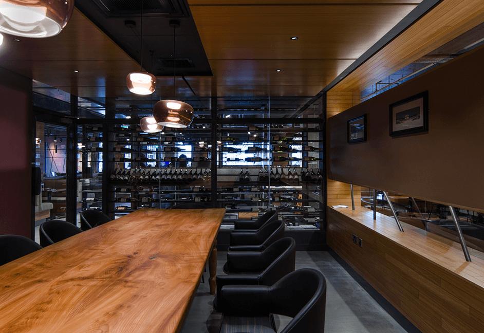 Bar lighting scheme design
