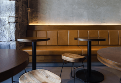 Hospitality lighting for bar area