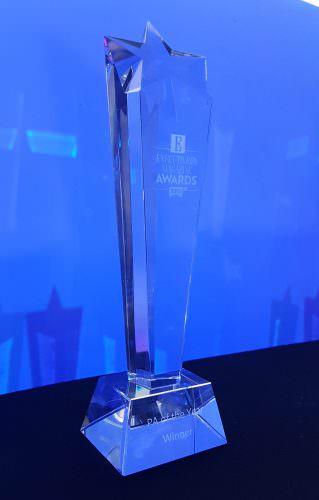 Executive PA Awards 2016 at London O2 Arena Award Trophy