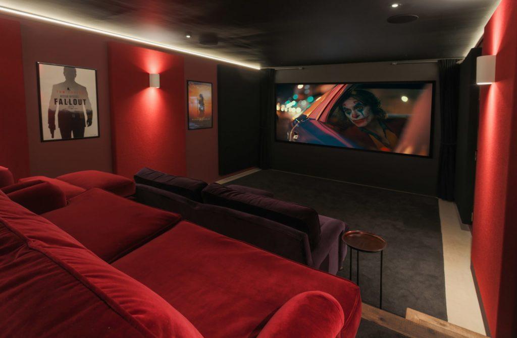 Home cinema and Media room
