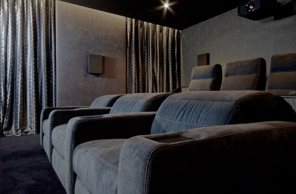 Artcoustic seating - home cinema