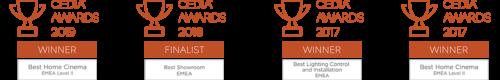 2019 - 2018 - 2017 CEDIA awards