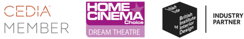 Awards banner to home cinema and family media rooms page