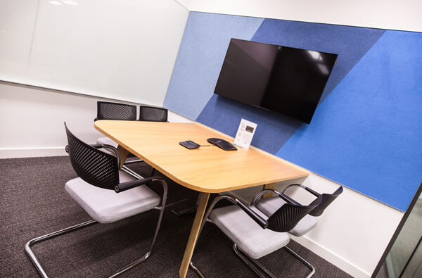 5 room corporate meeting room