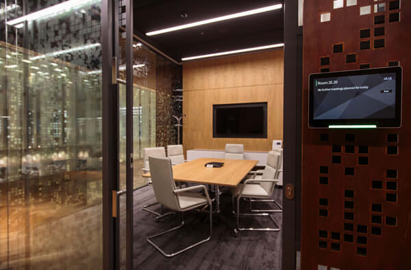 Corporate Meeting Room in London with Room Booking Solution and VC System
