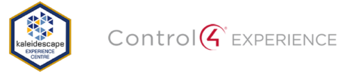 Control4 and Kaleidescape logo for residential page