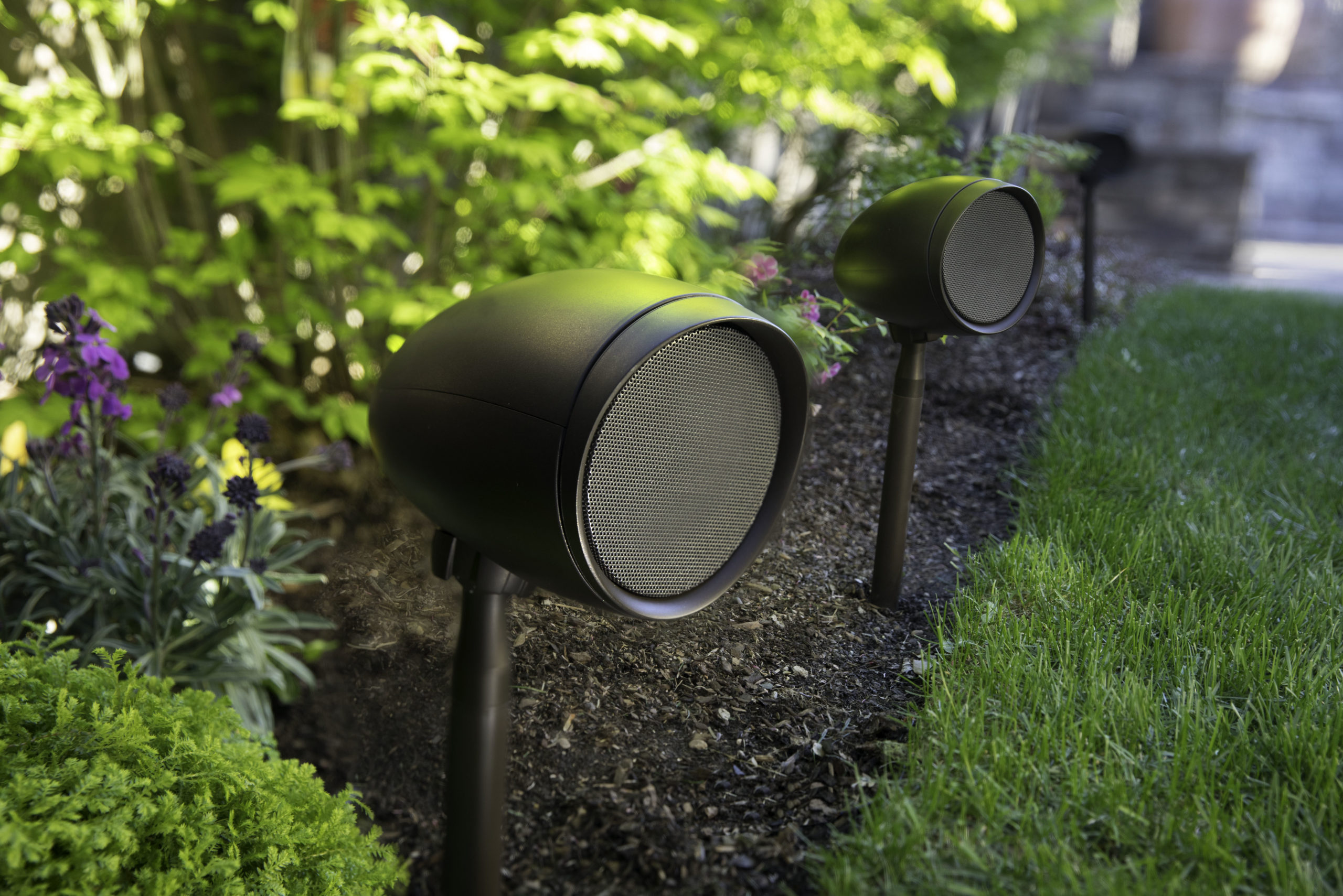 Triad Garden speakers