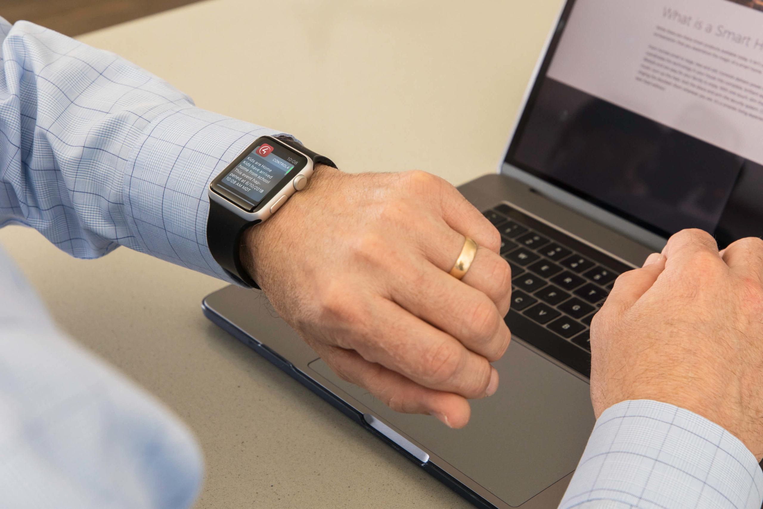 control4 smart watch
