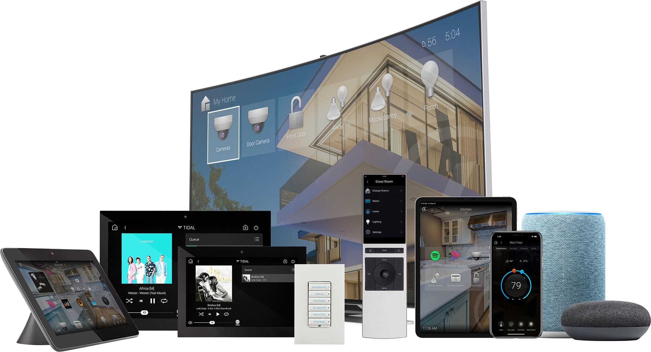 Smart home - home automation