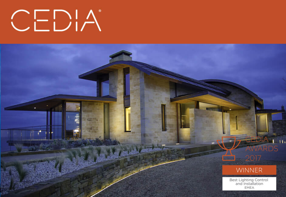 Cedia Awards ladies lake best lighting winner