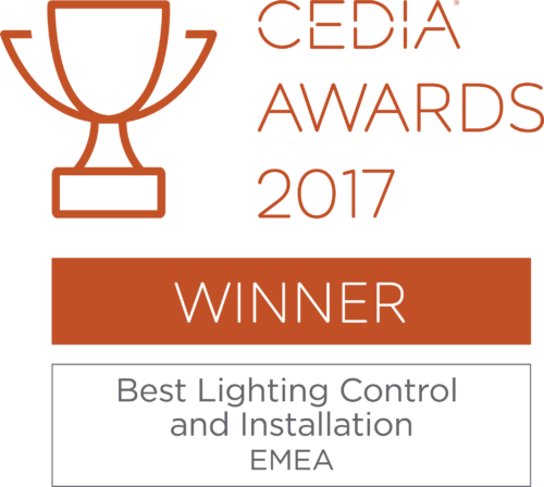 CEDIA - best lighting control 2017