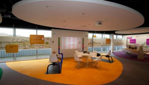 Centrica Langage Power Station Visitors Centre Interactive Area