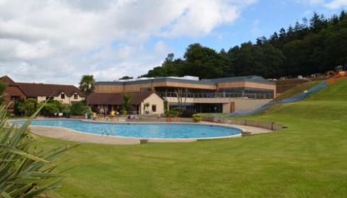 Cofton swimming pool area