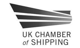 Corporate - Chamber of shipping logo greyscale