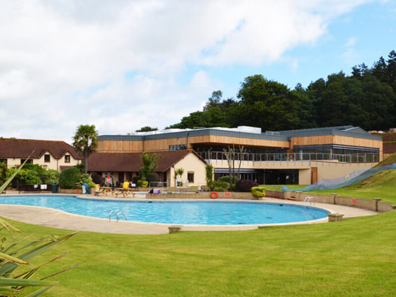 Cofton Holiday Park External View and Pool