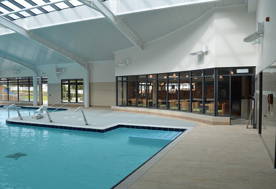 audio visual installation swimming pool