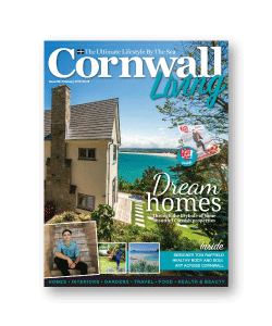 Cornwall Living magazine cover 2017