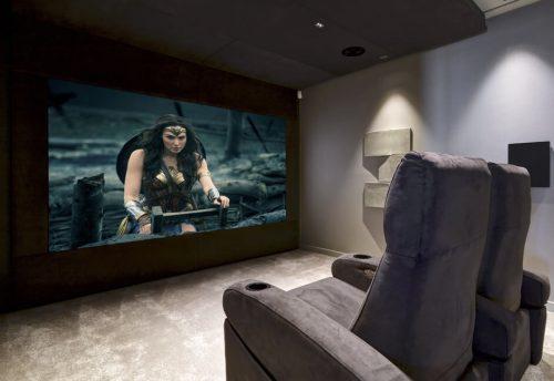 dolby atmos home theater devon UK ineva cinema seating