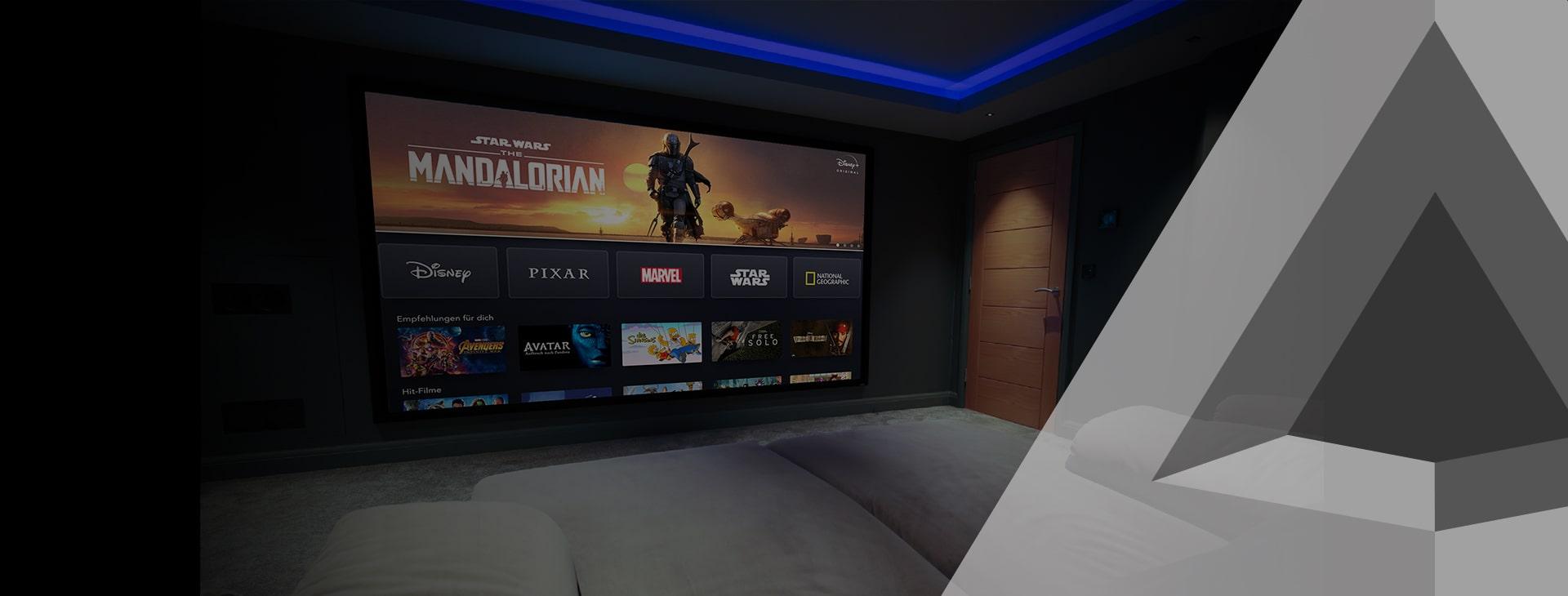 Cinema Demo – Home