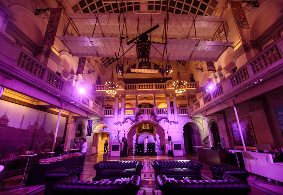 Events lighting in heritage environment