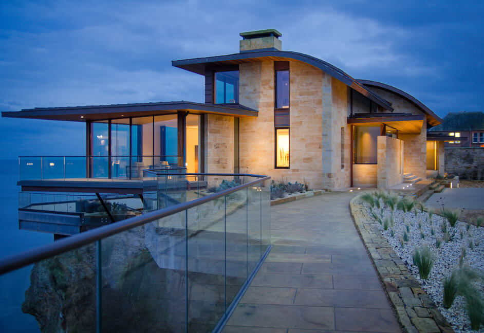 Award winning home with full home automation and lighting controls in St Andrews Scotland