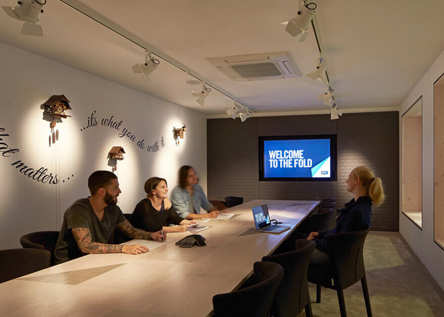 Meeting Room with Large Display Screen Central London
