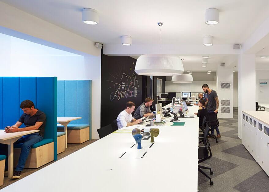 Board Room with Av installation and screens