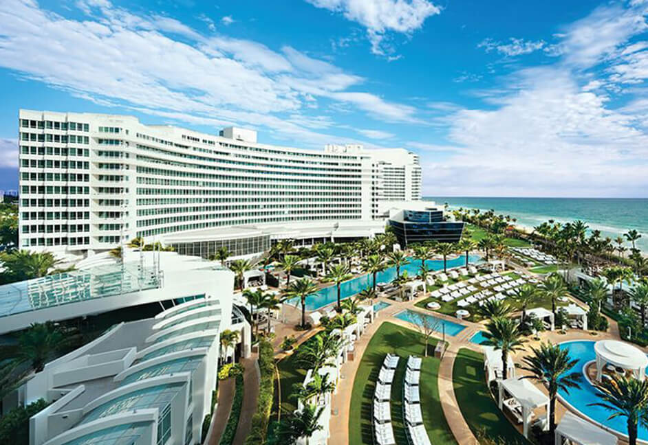 Venue Fontainebleu Hotel in Miami for SPAR annual conference