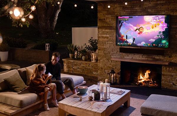 family garden tv