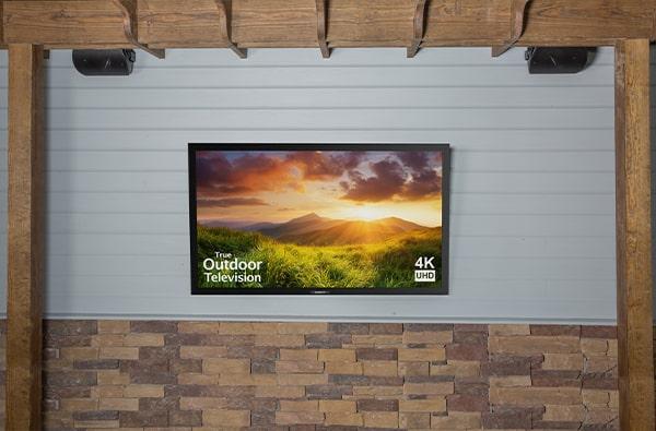 waterproof garden tv