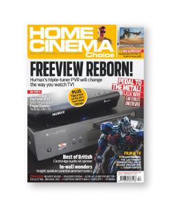 home cinema choice Freeview reborn magazine cover
