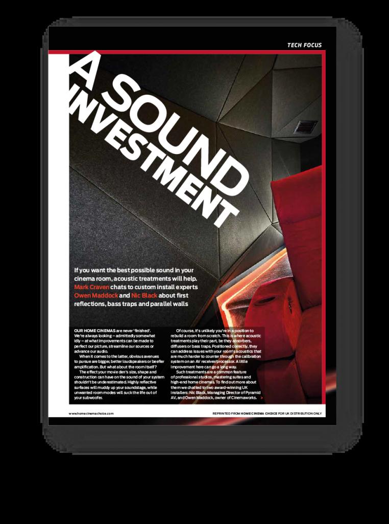 A sound Investment tech focus article