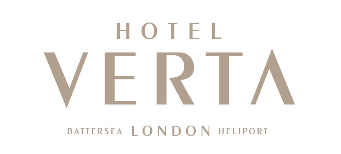 Hotel Verta London logo design