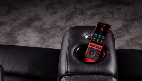 Red need remote - limited edition con a cinema chair