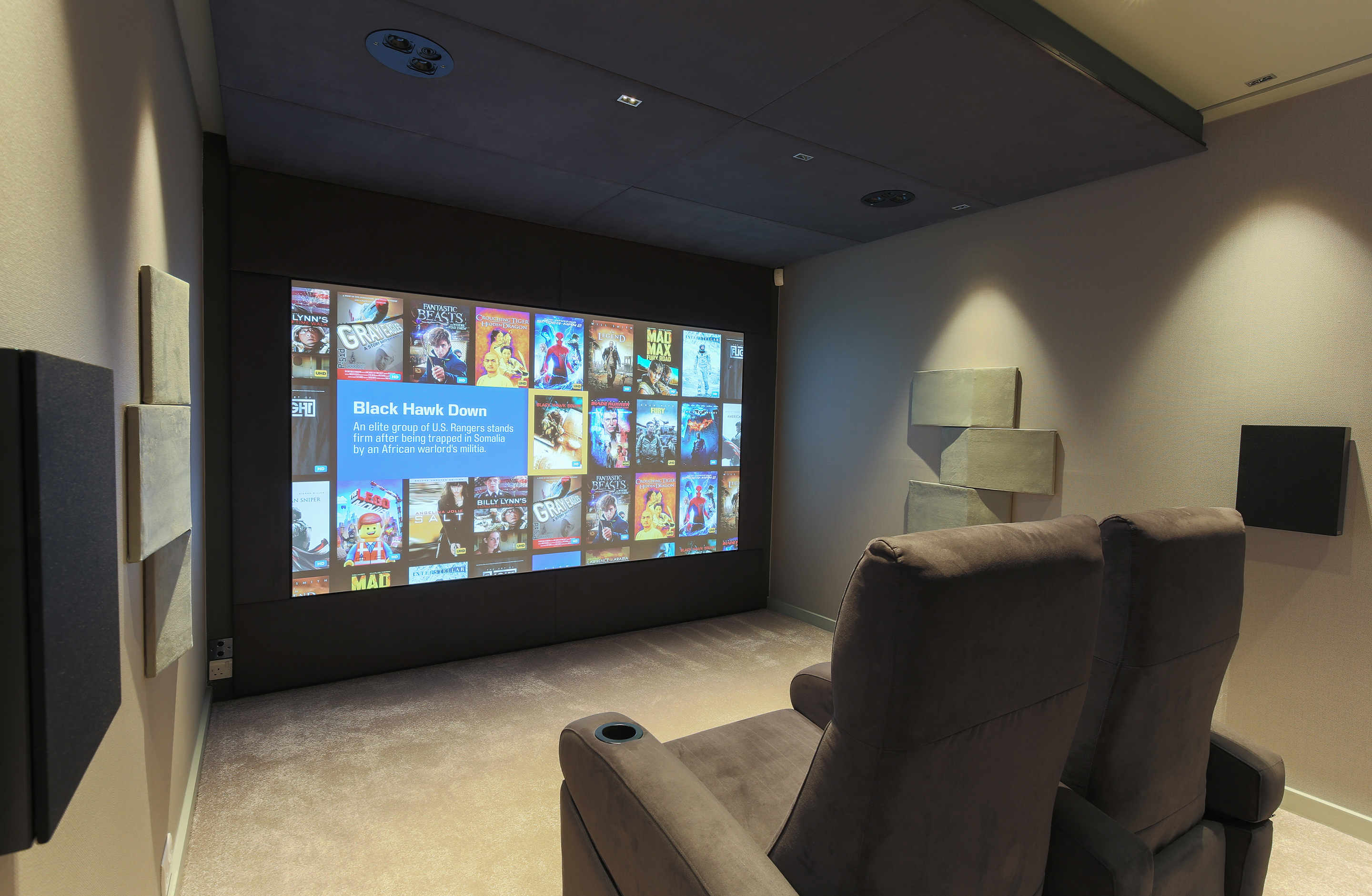 Kaleidescape hoem cinema system south west UK