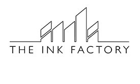 TV and Film producers - The Ink Factory logo greyscale