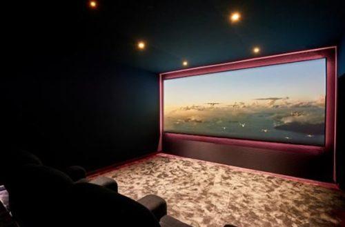 Invision cinema demo showroom