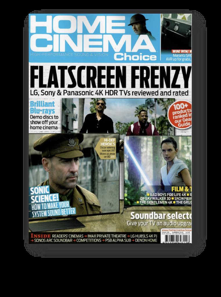 Home cinema choice magazine cover issue 312