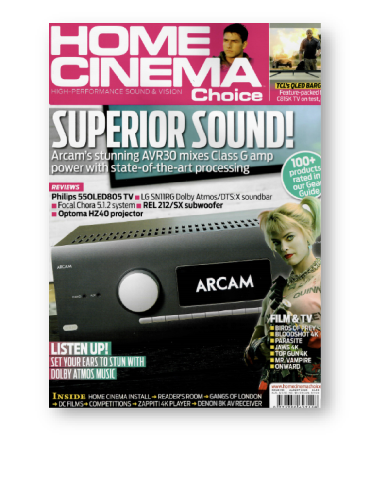 Home cinema choice magazine cover issue 313