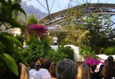 The Eden Project Cornwall with Jamie Oliver