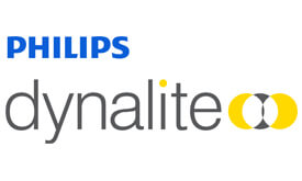Logo Philips Dynalite for commercial lighting