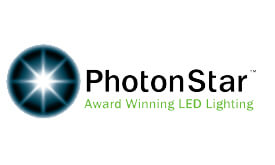 Logo Photonstar for colour tuneable lighting for residential and commercial lighting