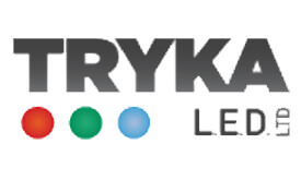 Logo Tryka LED for commercial, heritage, leisure and residential lighting manufacturer