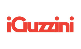 Red aguzzini lighting logo