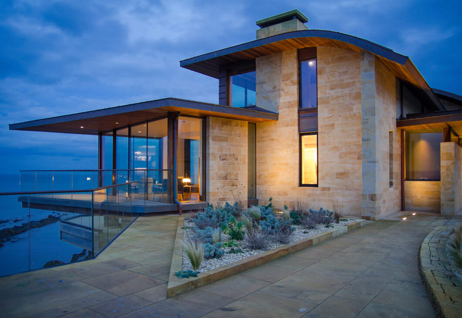 Ladies Lake Clifftop House in St Andrews Scotland