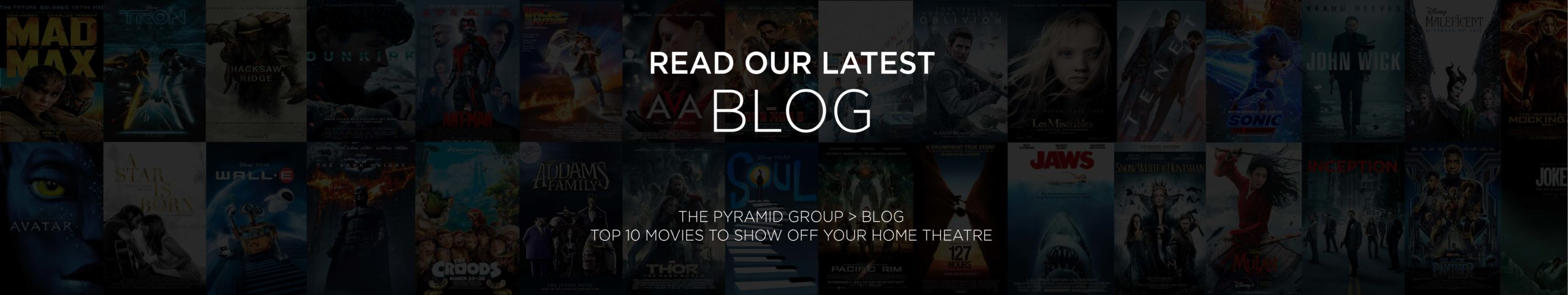 Top 10 movies to show off you home theatre - blog image