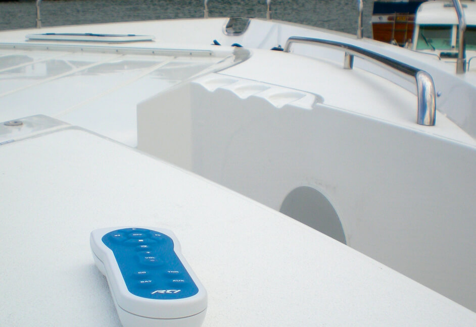 RTI controller for controlling audio and video on a superyacht based in Southern Spain