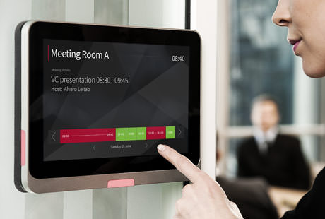 Room booking solutions for meeting spaces